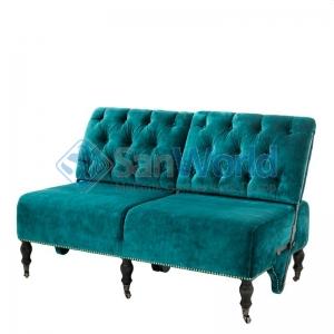 Eichholtz Sofa Tete-a-tete диван бирюзовый