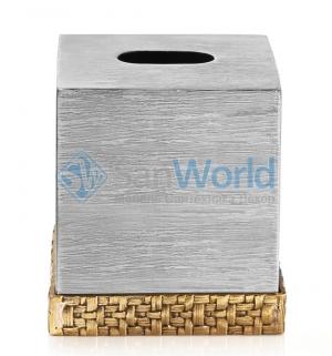 Michael Aram Пальмовая ветвь салфетница металлическая куб настольная