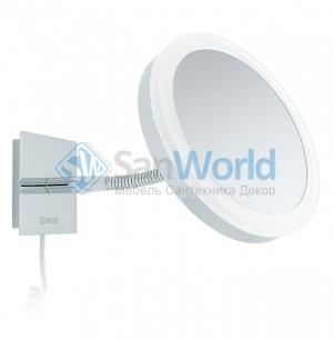 SARA Nicol косметическое зеркало с подсветкой LED и пятикратным увеличением настенное
