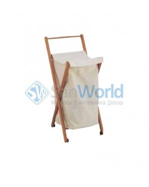 Мебель для постирочной комнаты деревянная корзина для белья складная