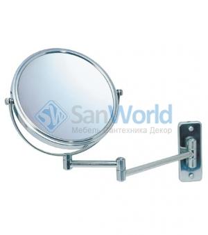BEA Nicol косметическое зеркало двухстороннее с увеличением 1х1 и 1х5 настенное