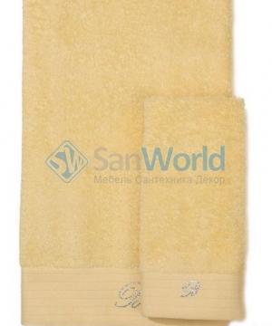 Комплект полотенец для лица и рук (40х60; 60х110) Crociera (Кросиера) Желтый от Blumarine