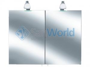 Keuco зеркальный шкафчик с подсветкой Royal 30