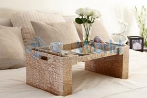 Wood Collection деревянный столик для постели Ясень Tamo Ash