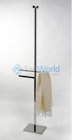 Стойка для халатов и полотенец Linea 2020 квадратное основание
