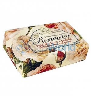 Nesti Dante Romantica Rosa Medicea e Peonia Мыло Флорентийская роза и Пион 250 г