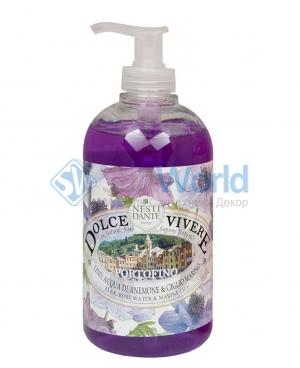 Nesti Dante Portofino Dolce Vivere Жидкое мыло Розовая вода и Морская лилия 500 мл