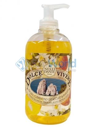 Nesti Dante Dolce Vivere Capri Жидкое мыло Капри 500 мл