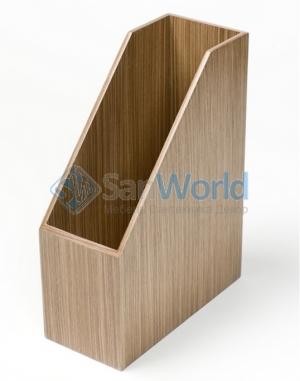 Wood Collection аксессуары для рабочего стола накопитель для бумаг деревянный Орех