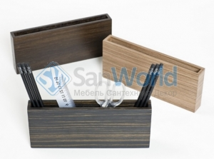 Wood Collection деревянные аксессуары для рабочего стола карандашница