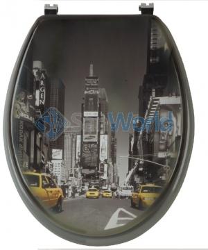 New York сиденье для унитаза с микролифтом