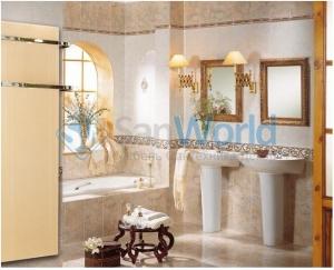 Fondis стеклянный полотенцесушитель электрический радиатор  Solaris