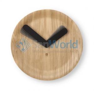 Часы настенные TIME FLOW натуральное дерево