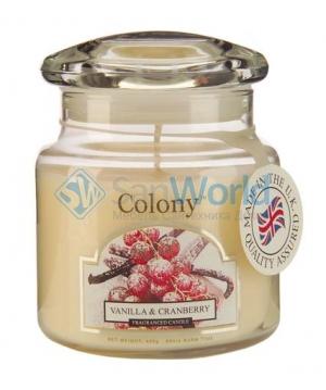 Ароматическая свеча Клюква в сахаре