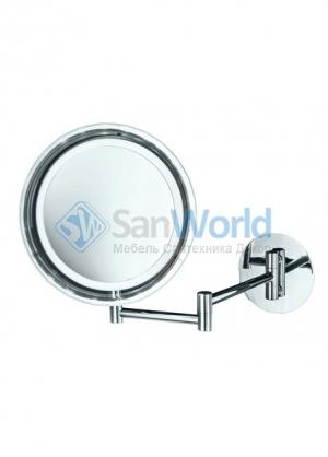 Зеркало косметическое с подсветкой Cosmetic настенное с увеличением 1х5