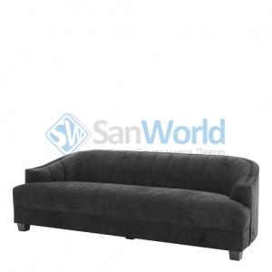Eichholtz Sofa Polaris диван чёрный