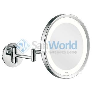 Aliseo Led Lunatec косметическое зеркало с увеличением х3 и подсветкой двойной шарнир