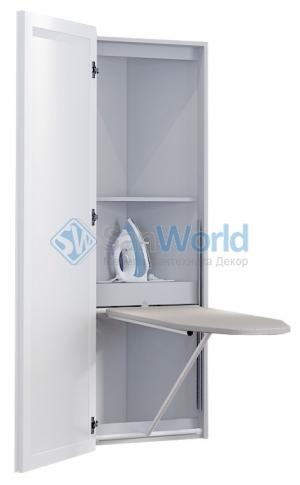 KALEVALA BELSI угловая гладильная доска-трансформер с зеркальной дверью