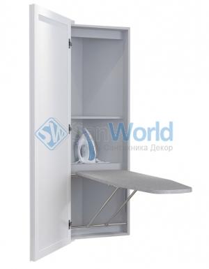 LUMI BELSI угловая гладильная доска-трансформер с зеркальной дверью