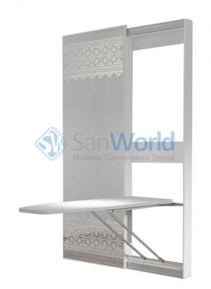 ONEGA BELSI гладильная доска-трансформер с зеркальной дверью-купе