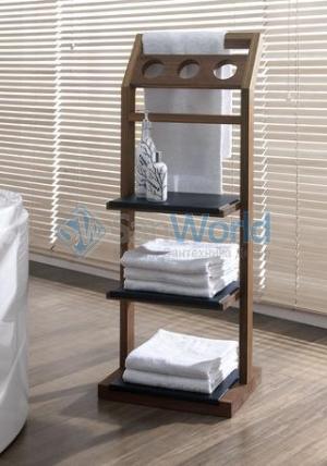 Этажерка для ванной Günter деревяная