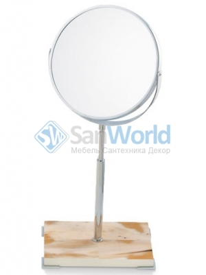 Зеркало косметическое настольное Horn & lacquer Ivory by Arcahorn