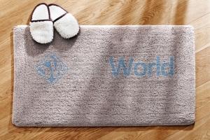 Хлопковый коврик для ванной Cotton Plus