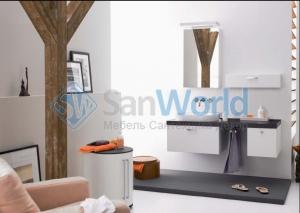 Kama мебель для ванной Mesa