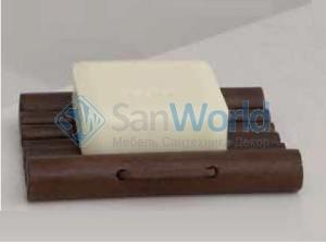 Severin мыльница деревянная настольная тон Орех