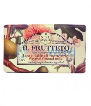 Nesti DANTE IL FRUTTETO Fig and Almond milk Мыло Инжир и Миндальное молоко 250 гр