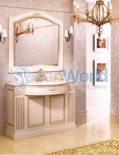 Мебель для ванной умывальник с зеркалом ROXANA