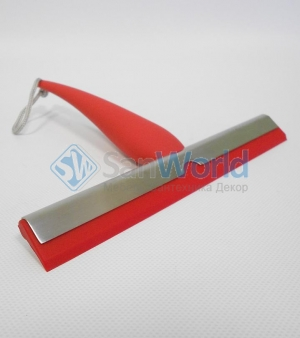 ISI Nicol скребок для стёкол душевой кабины Красный