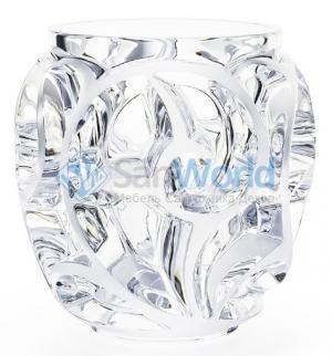 Ваза Thourbillons прозрачная Lalique