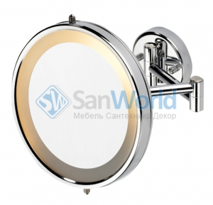 Verena Nicol Косметическое зеркало с подсветкой и увеличением 1х5 настенное