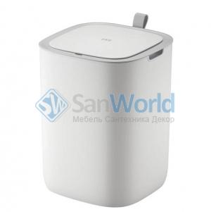 EKO сенсорное мусорное ведро 12 литров белое полипропиленовое